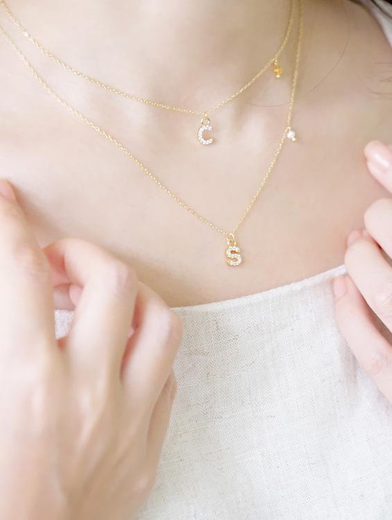 設計最暖心禮物『字母項鍊』搭配誕生石,12星座的守護天使誕生!