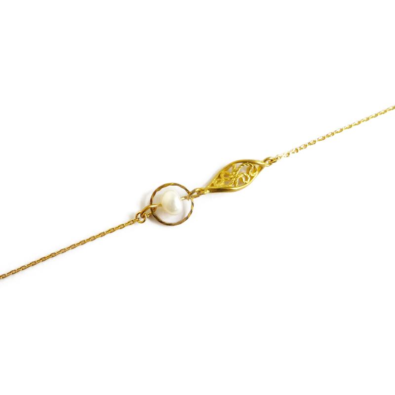 波希米亞 – 珍珠 – 手鍊