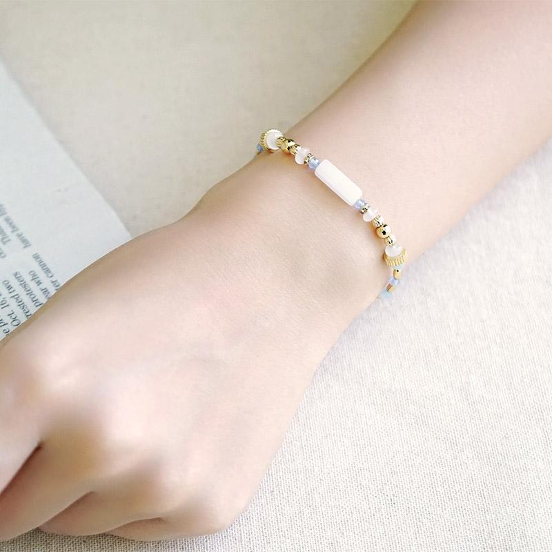 憶念品彙 – 白玉 – 手鍊