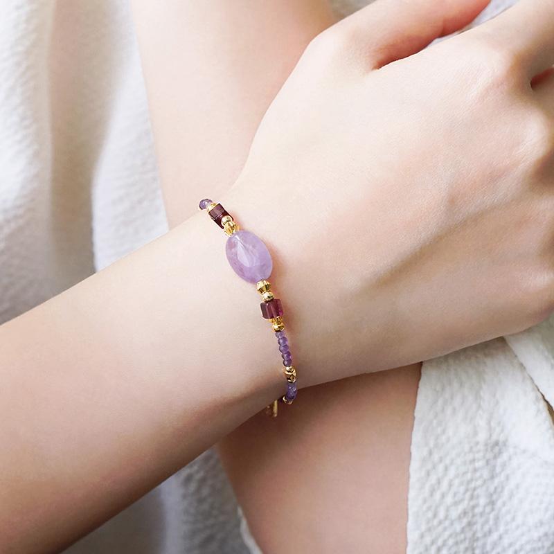 年中慶特殊款 – 紫水晶– 手鍊(限量加購價699元)