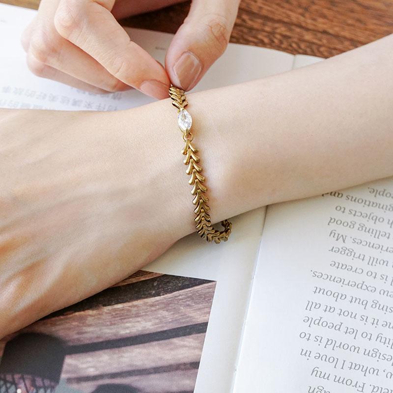 銅話 – 脈脈 – 手鍊