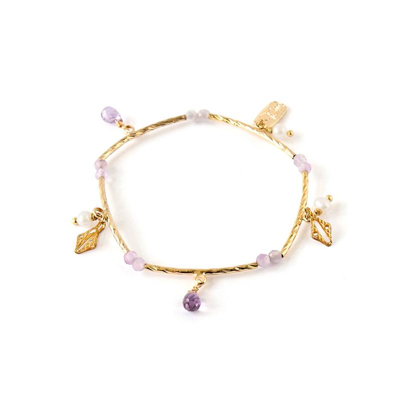 愛情蔓延 – 紫水晶 – 手鍊