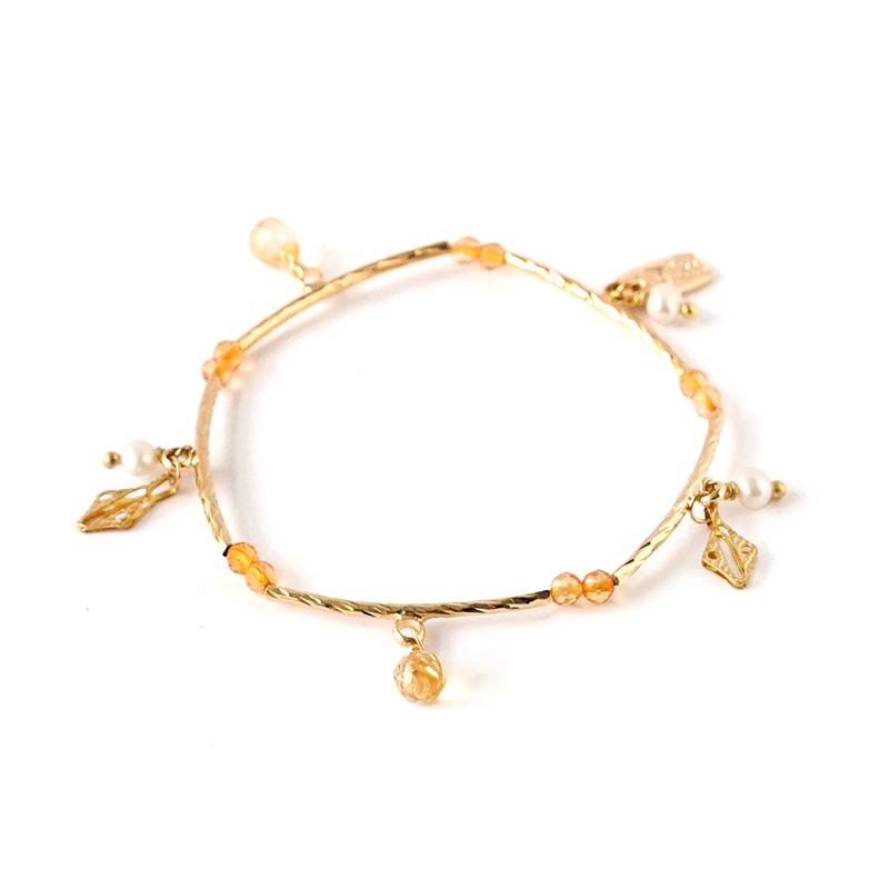 愛情蔓延 – 黃水晶 – 手鍊