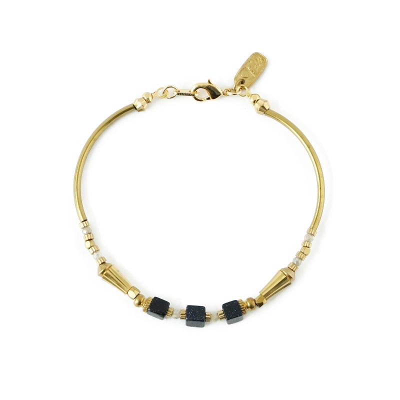 柏拉圖的理想枷鎖 – 藍金沙 – 手鍊