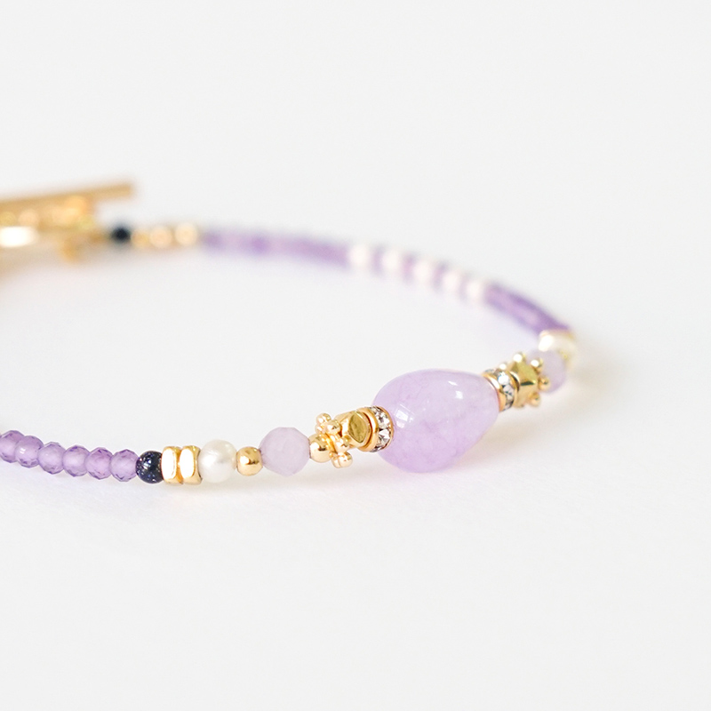 心晴娃娃 – 紫水晶 – 手鍊