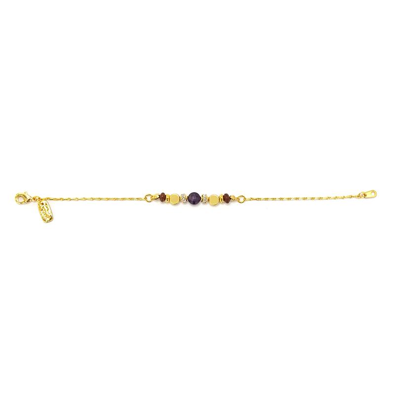 星軌共舞 – 紫水晶 – 手鍊