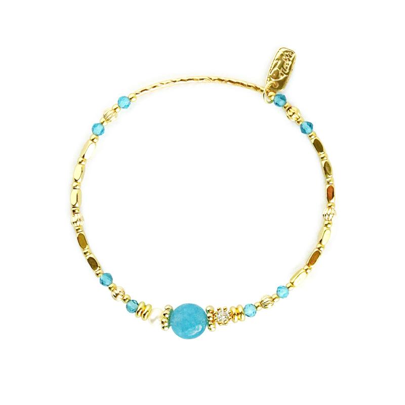 小蒐藏家 – 海藍寶 – 手鍊