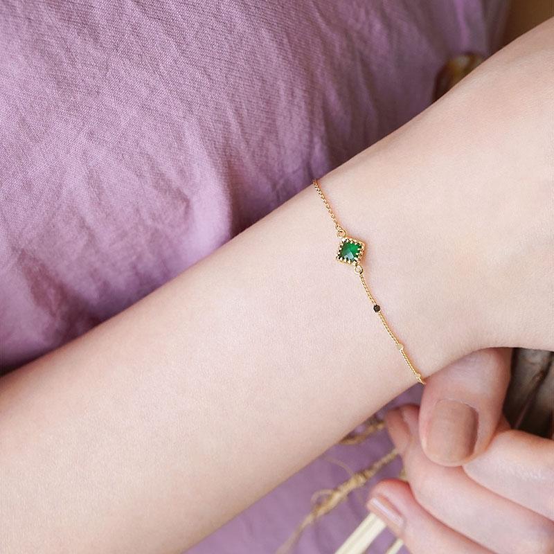 星夜裡的人 – 綠 – 手鍊