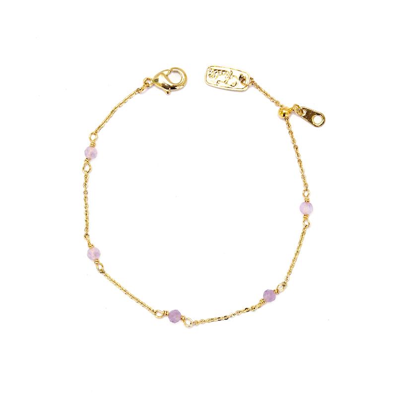 小宇宙盛事 – 誕生 – 2月 – 紫水晶 – 手鍊
