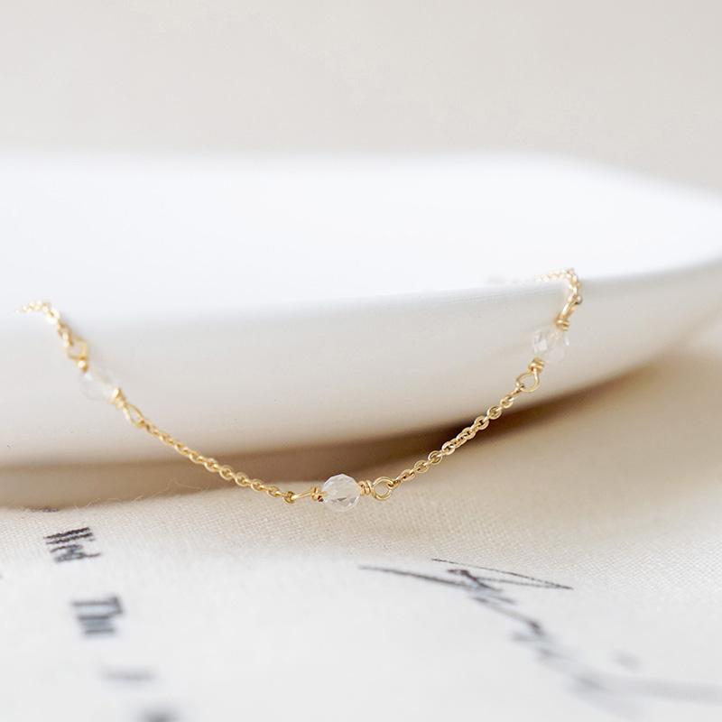 小宇宙盛事 – 誕生 – 4月 – 白水晶 – 手鍊