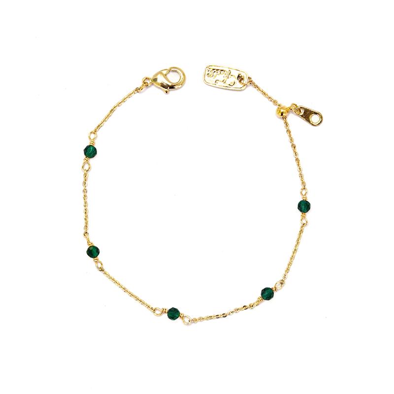 小宇宙盛事 – 誕生 – 5月 – 祖母綠 – 手鍊