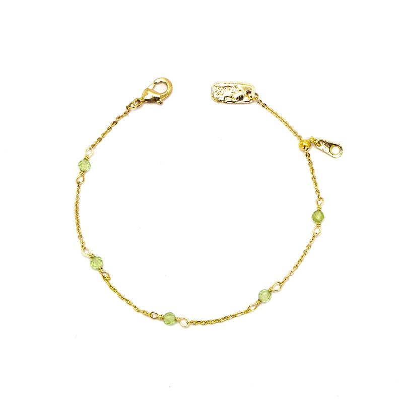 小宇宙盛事 – 誕生 – 8月 – 橄欖石 – 手鍊
