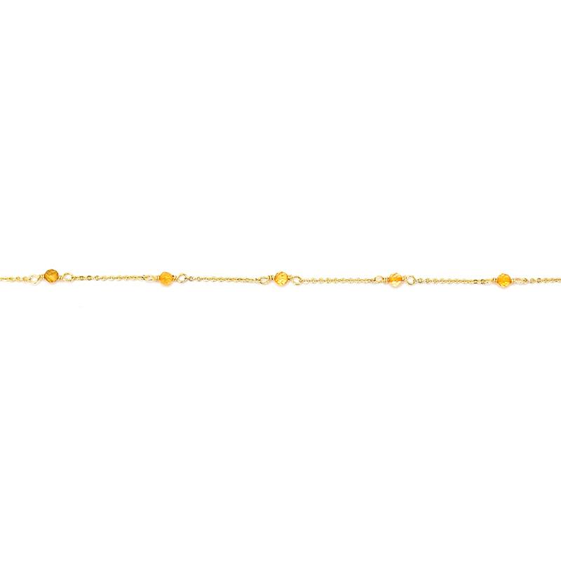 小宇宙盛事 – 誕生 – 11月 – 黃水晶 – 手鍊