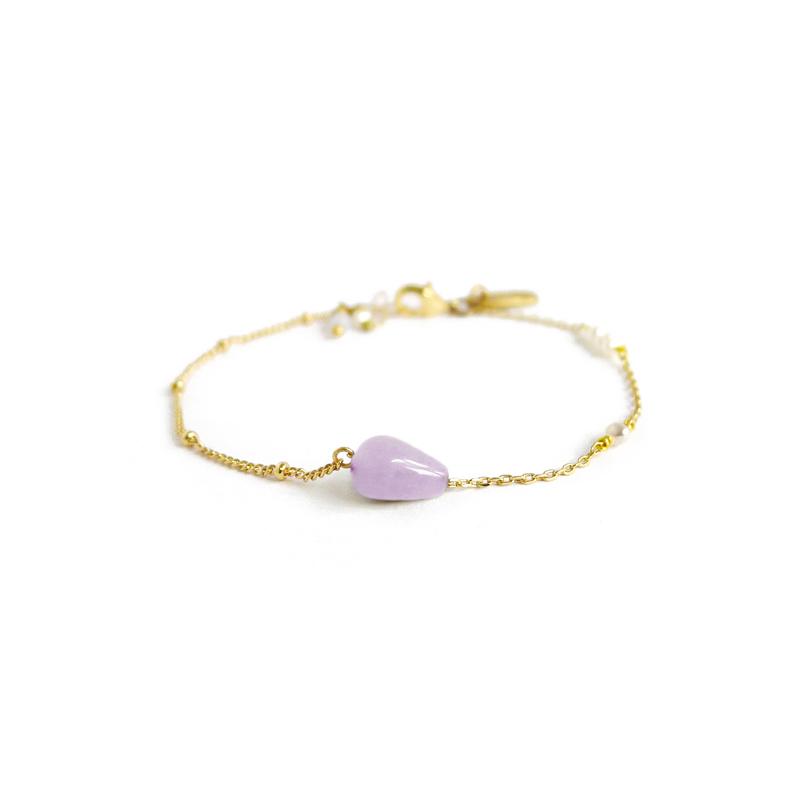 與你同行 – 紫水晶 – 手鍊