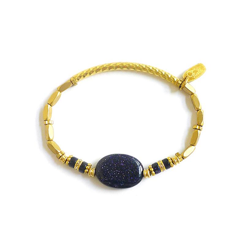 宙斯的糖果罐 – 藍金沙 - 手鍊