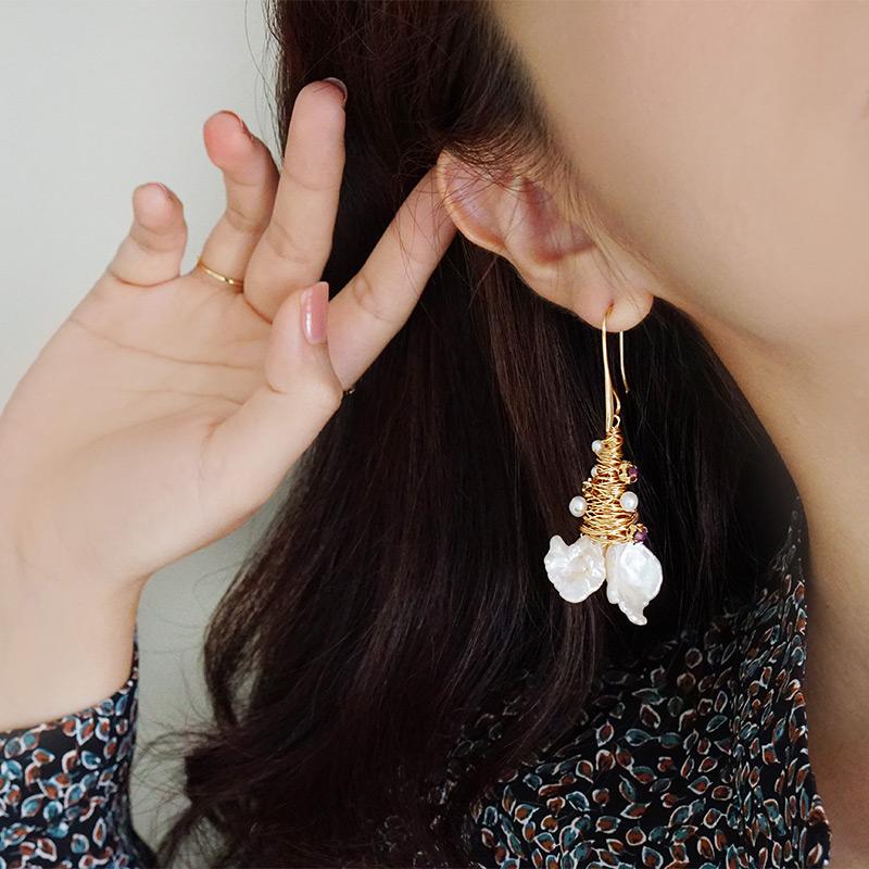 唐頓莊園 – 浮誇 – 耳環