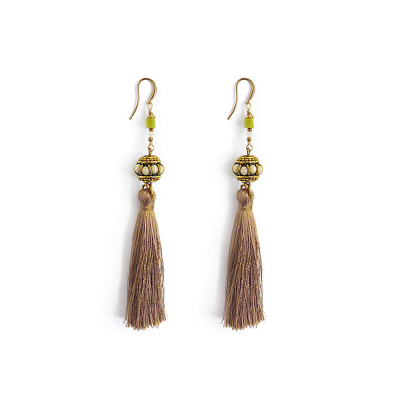 泗久 – 橄欖石 – 耳環