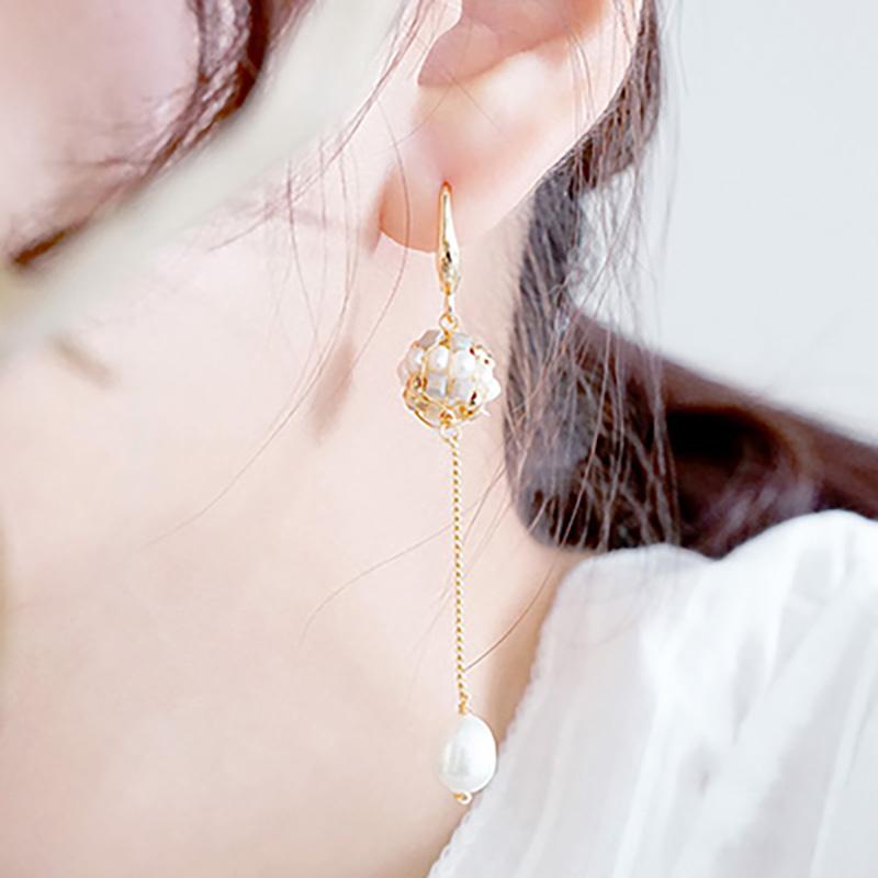 純白耶誕 – 晨光 – 耳環