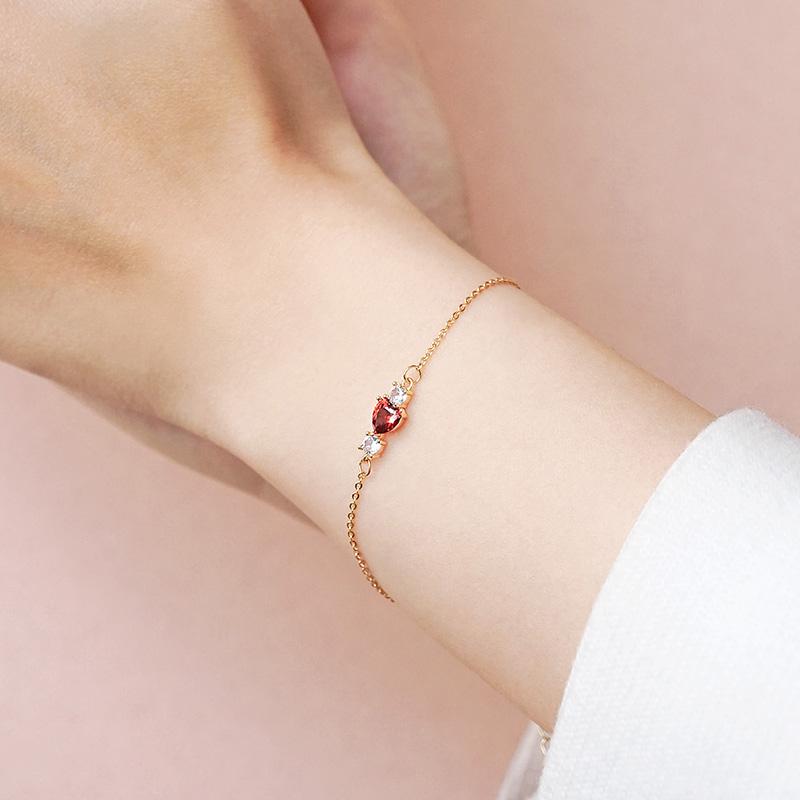 浪漫計畫 – 玫瑰鋯石 – 手鍊