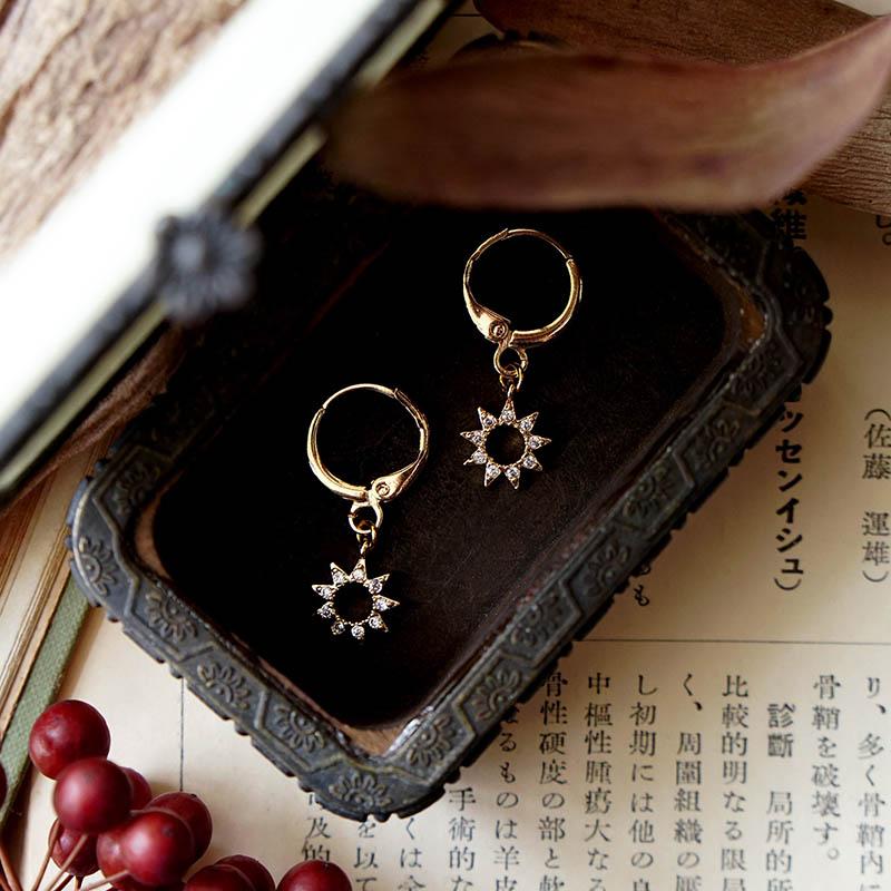 藏寶盒 – 太陽 – 耳環