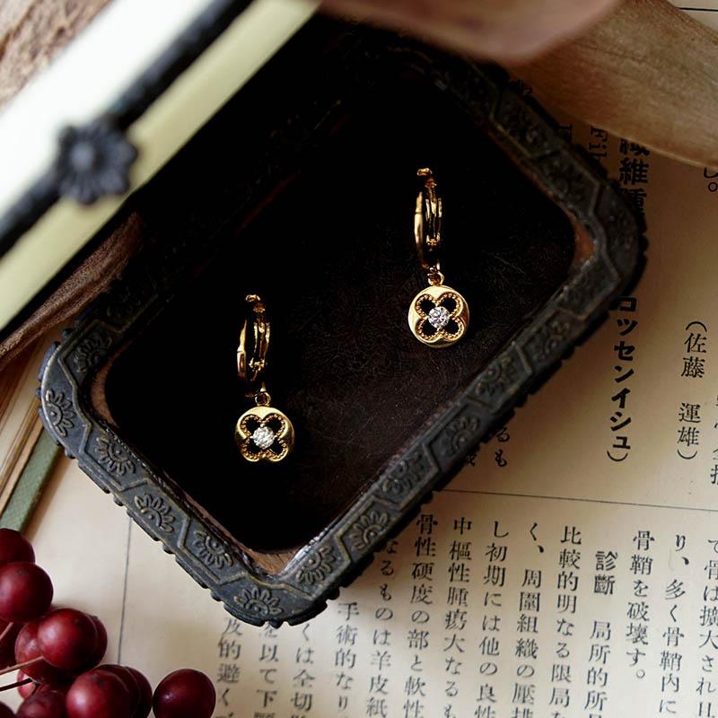 藏寶盒 – 窗花 – 耳環