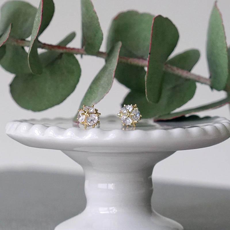 植物圖鑑 – 金球花 – 耳環