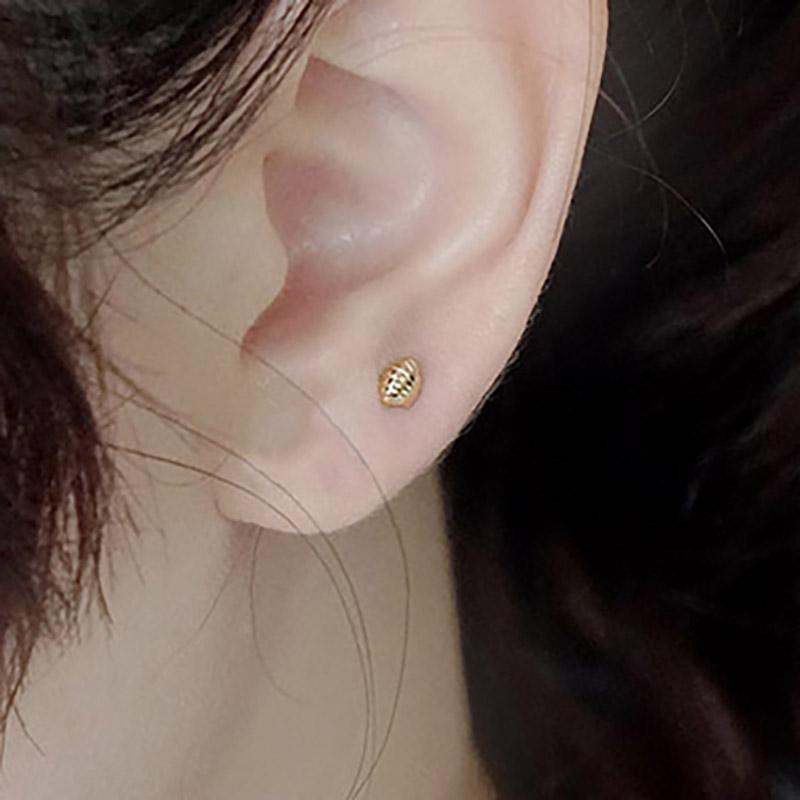 賽倫之音 – 貝殼 – 金 – 耳環
