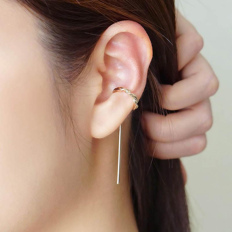 幾何學 – 平行線 – 耳骨夾