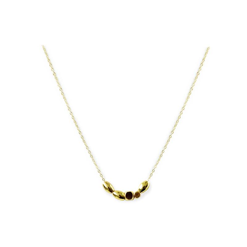 黃銅K金款 – 混珠 – 項鍊
