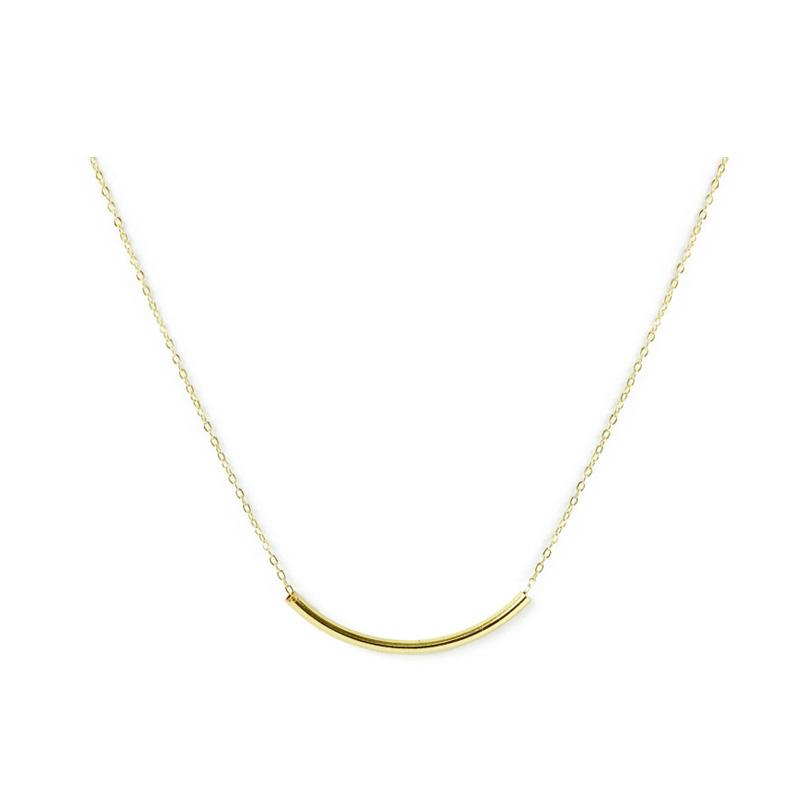黃銅K金款 – 細管 – 項鍊