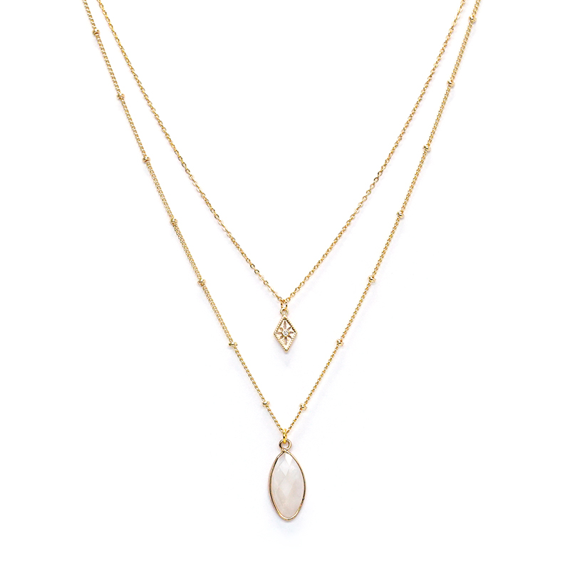莉莉安 – 白水晶 – 項鍊