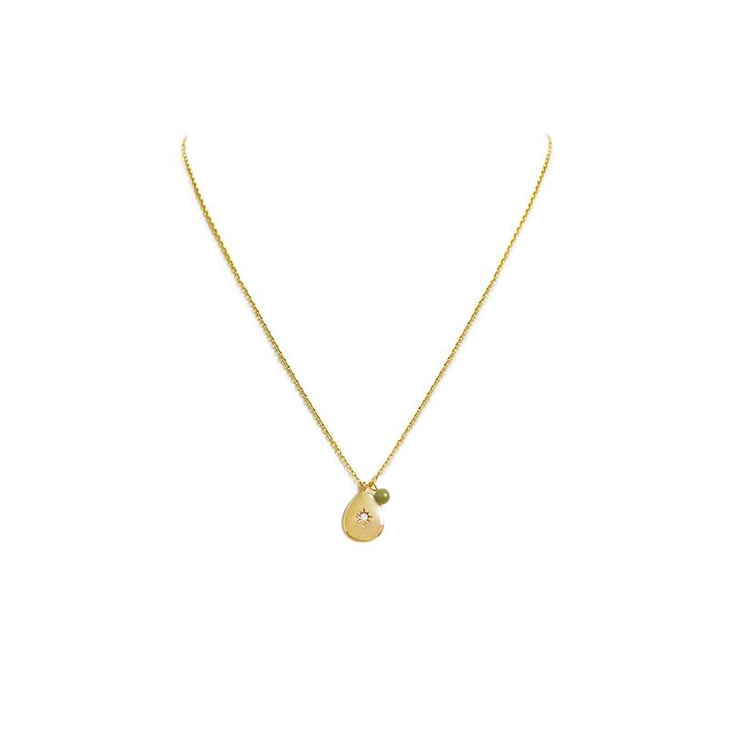 小宇宙盛事 – 恆星 – 8月 – 橄欖石 – 項鍊