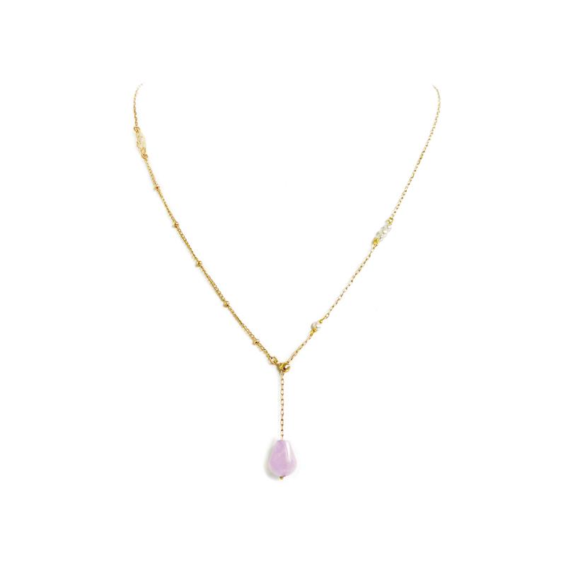 與你同行 – 紫水晶 – 項鍊