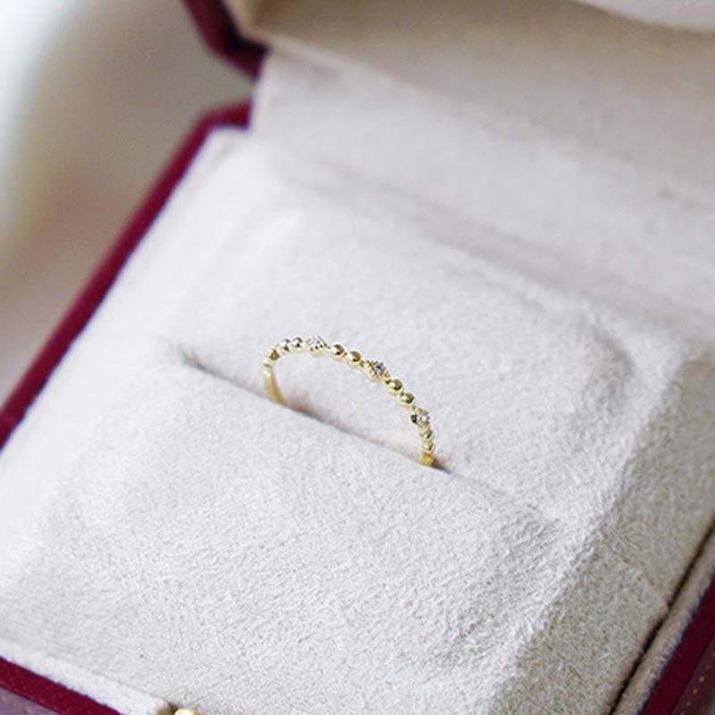 輕奢主義 – 點點印花 – 戒指
