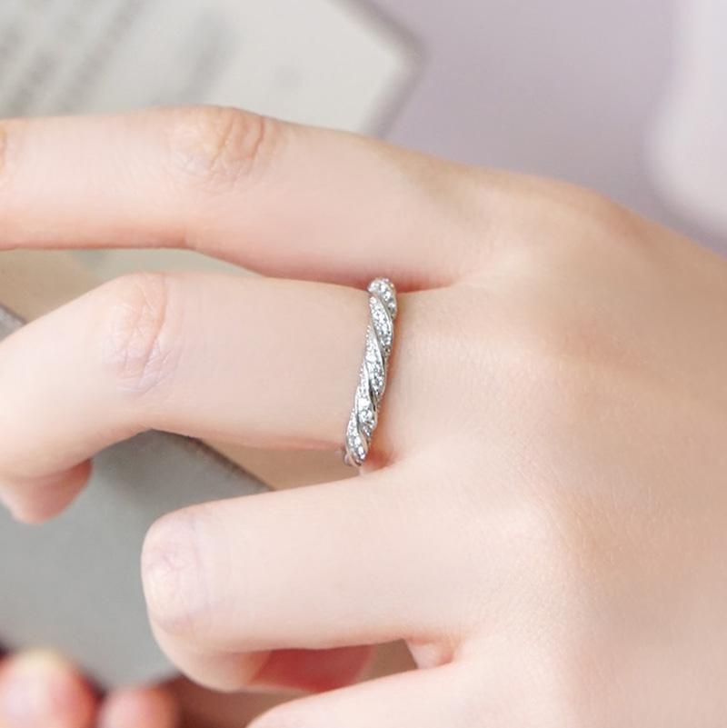 晨間時光 – 麻花 – 戒指