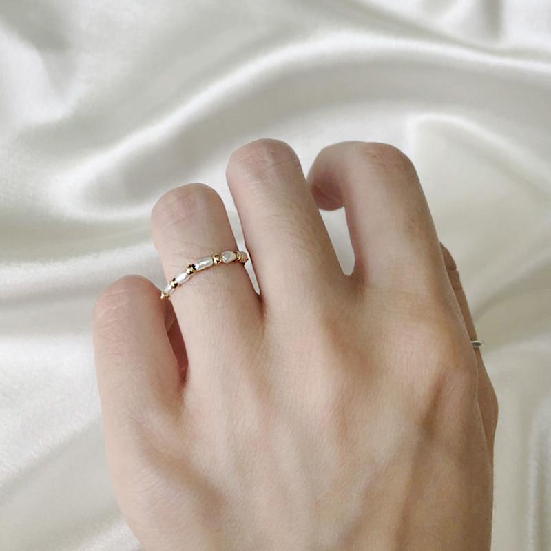 設計款戒指 - 珍珠款